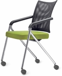 Join Me Large Mesh Back Nesting Chair [JM12250-FS-DV]