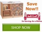 Jonti Promotions are Back!! Save on Classroom Storage Furniture by
