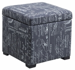 Judith Ottoman w/ Jewelry Storage [40520SCRPLIN-01-AS-FS-LIN]
