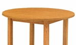 500 Series Juvenile Round Solid Wood Table [0500-36R-GCC]