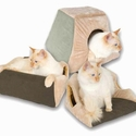 K&H Pet Products Thermo Kitty Cabin Sage 16'' X 16'' X 13''