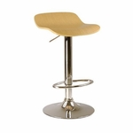 Kallie Airlift Adjustable Stools in Natural-Set of 2 [93889-FS-WWT]