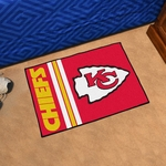Kansas City Chiefs Team Uniform Inspired Starter Starter Mat 19'' x 30'' [8225-FS-FAN]