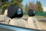 Kansas Jayhawks Headrest Covers-Set of 2 [82014-FS-BSI]