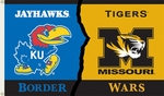 Kansas - Missouri 3' X 5' Flag with Grommets - Rivalry House Divided [95443-FS-BSI]