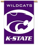Kansas State Wildcats 2-Sided 28'' X 40'' Banner with Pole Sleeve [96118-FS-BSI]