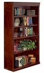Kathy ireland home trade huntington collection 36 w x 60 h open bookcase vibrant cherry hcr3660 fs kimf 9