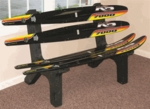 ''KD Black 7000'' Water Ski Bench [ISK-WSB-KB7-FS-ISK]