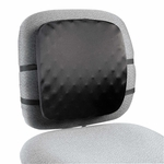 Kensington® Halfback Back Support Chair Pad - 13w x 1-1/2d x 13-3/4h - Black [KMW82021-FS-NAT]