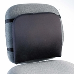 Kensington® Memory Foam Backrest - 16''w x 12''d x 16''h - Black [KMW82025-FS-NAT]