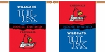 Kentucky - Louisville 2-Sided 28'' X 40'' Banner with Pole Sleeve House Divided [96321-FS-BSI]
