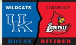 Kentucky - Louisville 3' X 5' Flag with Grommets - Rivalry House Divided [95321-FS-BSI]