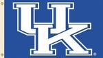 Kentucky Wildcats 3' X 5' Flag with Grommets - Logo Design [95510-FS-BSI]