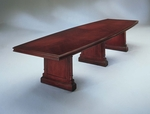 Keswick 12' Boat Shaped Expandable Table - English Cherry [7990-144EX-FS-DMI]