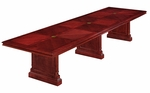 Keswick 14' Rectangular Expandable Table - English Cherry [7990-168REX-FS-DMI]
