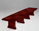 Keswick 16' Boat Shaped Expandable Table - English Cherry [7990-192EX-FS-DMI]