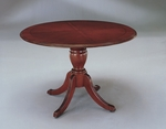 Keswick 42'' Round Queen Anne Conference Table - English Cherry [7990-89-FS-DMI]