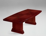 Keswick 8' Boat Shaped Expandable Table - English Cherry [7990-96EX-FS-DMI]