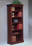 Keswick Left Hand Facing Bookcase - English Cherry [7990-118-FS-DMI]