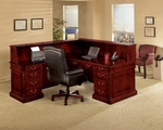 Keswick Right Reception L Desk - English Cherry [7990-66-FS-DMI]