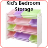 Kid's Bedroom Storage