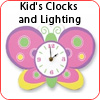 Kid's Clocks and Lighting
