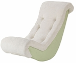 Kids Banana Rocker Lime Micro with Sherpa