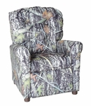 Kids Recliner with Button Tufted Back - New Conceal [400-NEW-CONCEAL-FS-BZ]