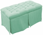 Kids Tufted Toy Box Classic Velvet Tiffany