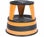350 lb Capacity Kik Step Stool - Orange [1001-30-FS-CRA]