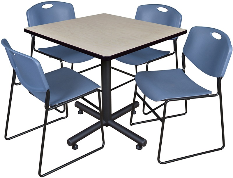 Breakroom Table And Chair Sets - Break room table and chair sets