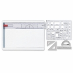 Koh-I-Noor Interior Design Draft Kit - 18 1/2'' x 13'' x 3/8'' - White [KOH522130INT-FS-SP]