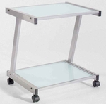 L Printer Cart in Aluminum [27725-FS-ERS]