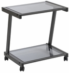 L Printer Cart in Black [27726-FS-ERS]
