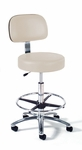 Lab Stool - Adjustable 23'' - 33'' [863-FS-INT]