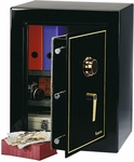Large Executive Security Safe with 4.3 CU Ft. Capacity and Combination Lock - Black [D880-FS-SEN]