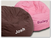 Large Overstuffed Personalized Bean Bags