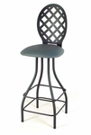 Lattice Series Swivel Counter Stool [SW224-LATTICE-FS-GCM]