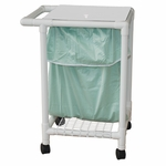 Leak-Proof Laundry Hamper with Leak Proof Bag and Casters - 22.5''W X 26.5''D X 38.5''H [218-S-LP-MJM]