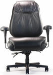 Leather Pillow Top Big And Tall Executive Chair [BTC10100PT-FS-NEU]