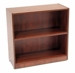 Legacy 30''H 2 Shelf Wooden Bookcase with PVC Edge - Cherry [LBC3032CH-FS-REG]
