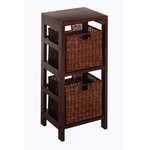 Leo 3-Pc Storage Shelf and Baskets [92525-FS-WWT]