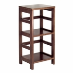 Leo Narrow 2-Tier Shelf [92314-FS-WWT]