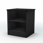 Libra Collection Black Night Stand [3070059-FS-SS]