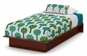 Libra Collection Twin Platform Bed (39'') Royal Cherry