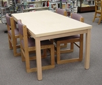 Library Rectangular Table [HT-3048-HEL]