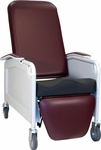 Lifecare Recliner in Burgundy - 3 Positions [586S-FS-WIN]