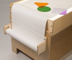 Birch Light Table Paper Roll Holder [WB2442-FS-WBR]