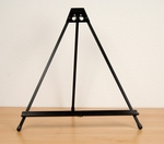 Light Weight Table Top Folding Presentation Easel with Adjustable Tilt - Black [13160-FS-SDI]