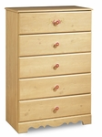 Lily Rose Collection Five Drawer Chest [3272035-FS-SS]